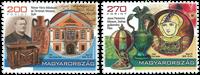 Hongrie - Musées - Série neuve 2v