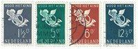 Holland 1936 - NVPH 289-92 - Stemplet