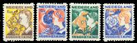 Tweezijdige hoekroltanding Kind 1932 - Nr. R94-R97 - Ongebruikt