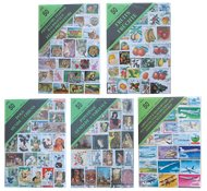 50 forskellige motivfrimærker - 1 pakke - Assorteret