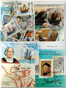 Columbus 5 blocs-feuillets, 1 série et 16 timbres