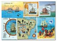古巴海员11张小型张邮票