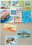 航空飞行10张小型张邮票
