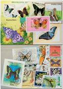 Butterflies 10 souvenir sheets