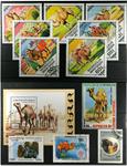 Kameler 1 miniark, 1 sæt, 10 frimærker