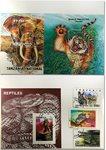TANSANIA - villieläimiä, 3 blokkia ja 3 sarjaa