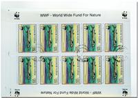 WWF Poissons 3 feuilles de 10