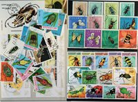 Insectes 4 BF, 2 séries, 32 timbres