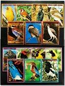 Guinée équatoriale  Oiseaux des continents 3 séries