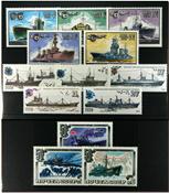 rusland skibe 3 postfriske sæt