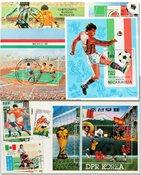 Fodbold VM 1986 5 miniark og 3 sæt