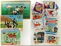 Baseball 3 miniark og 20 frimærker