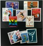 Balance bom 11 forskellige frimærker