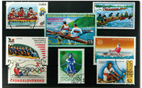 Aviron 8 timbres différents