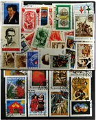 Hungary 100 diff. stamps in complete sets I