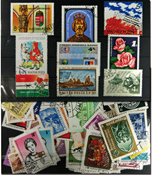 Hungary - 100 different stamps - In complete sets - Packet 2