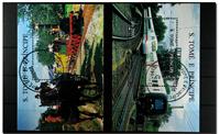Trains 2 bloc-feuillets