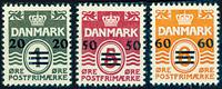 Færøerne 1941 - AFA 2B-6B - Postfrisk provisorier