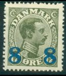 Danemark - Typographie AFA 119