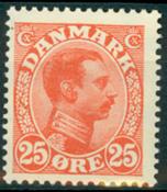 Denmark Letter press - AFA 126