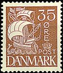 Danemark - Typographie - AFAf 173
