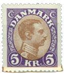 Danemark - Typographie AFA 176