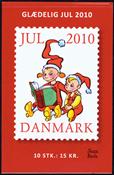 Danmark - Julemærkehæfte 2010 - Postfrisk hæfte