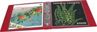 Leuchtturm årsmappealbum, rød inkl. 5 lommer