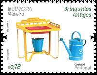 2015 欧罗巴 旧玩具套票1枚 - 2010年邮折