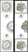 Aland - Zilveren sieraden - Postfrisse Gutterpair