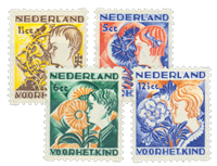 Pays-Bas 1932 - NVPH R94-97 - Neuf