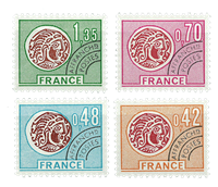 Frankrig - YT 134-37 - Forudannulleret