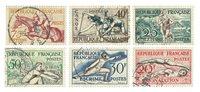 Frankrig 1953 - YT 960-65 - Stemplet