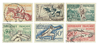 France 1953 - YT 960-65 - Cancelled