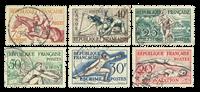 France 1953 - YT 960-65 - Oblitéré