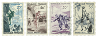 France 1956 - YT 1072-75 - Cancelled