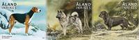 Åland - Chiens de chasse - Série neuve 3v