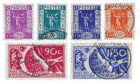France 1936 - YT 322-27 - Oblitéré