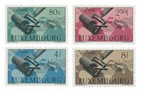 Luxemborg 1949 - Ubrugt - MICHEL 460-63