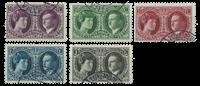 Luxembourg 1927 - Oblitéré - Michel 182-86
