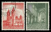 Luxembourg 1953 - Oblitéré - Michel 514-15