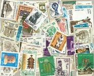 100枚不同埃及盖销票