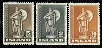 Island 1947 - AFA 215b,231b,241b