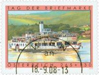Østrig - Frimærkets dag - Stemplet frimærke