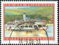 Autriche - Journée du timbre '08 - Timbre obl.