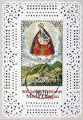 Austria - Maria Luggau - Cancelled souvenir sheet