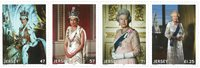 在位时间最长的英国君主-伊丽莎白二世的成就 套票 4枚