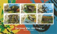 第一次世界大战小型张