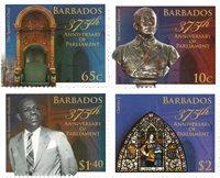 Barbados - Parlamentets jubilæum - Postfrisk sæt 4v