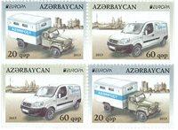 Aserbaijan - Europa 2013 - Postfrisk sæt fra hæfte